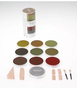 PanPastel PanPastel-Set mit 10 extra dunklen warmen Farben