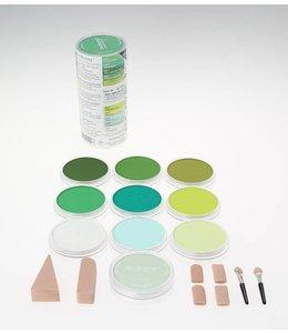 PanPastel PanPastel-Set mit 10 grünen Farben