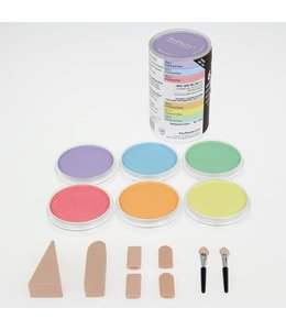 PanPastel PanPastel Pearlescent-set full range 6 colours