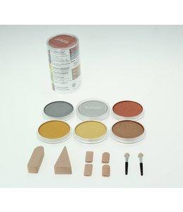 PanPastel PanPastel Metallic-set volledig bereik 6 kleuren