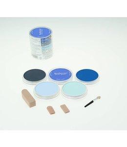 PanPastel PanPastel-Set met 5 blauwe kleuren