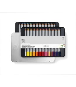 Winsor & Newton Studio Collection 48 crayons de couleur en boîte