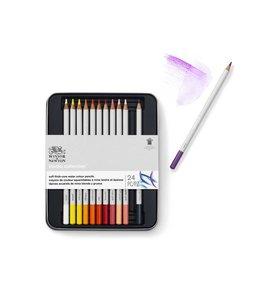 Winsor & Newton Studio Collection 24 crayons de couleur dans une boîte