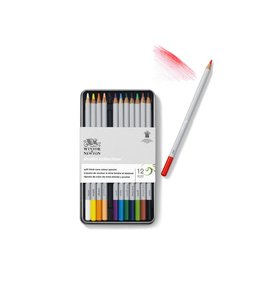 Winsor & Newton Studio Collection 12 kleurpotloden in blik