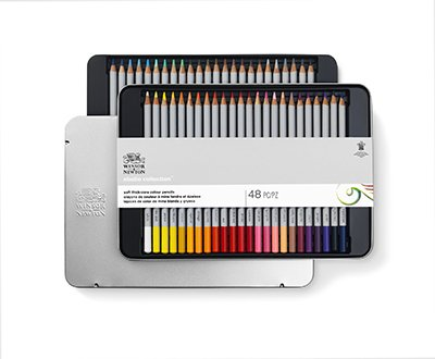 Winsor & Newton Colourpencils 48