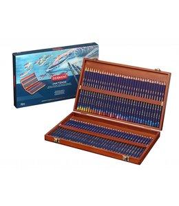 Derwent  Derwent Inktense 72 crayons aquarelle dans une boîte en bois