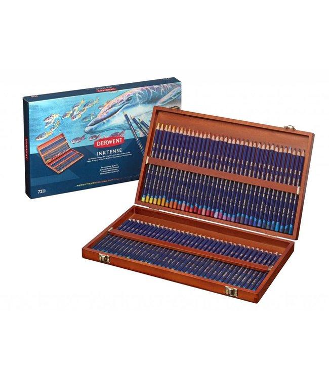 Derwent  Derwent Inktense 72 watercolor pencils in wooden box