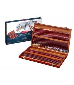 Derwent  Derwent Pastel 72 lápices pastel en caja de madera
