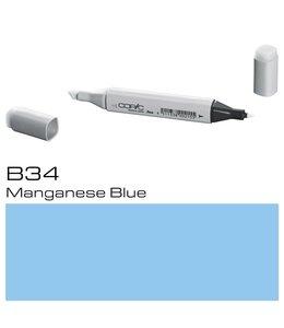 Copic Marqueur Copic Classic B34 Bleu Manganèse