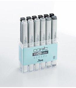 Copic Copic Classic Marker set met 12 neutraal grijs