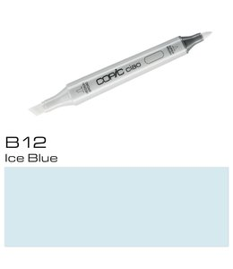 Copic Marqueur Copic Ciao B12 Ice Blue