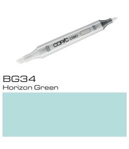 Copic Marqueur Copic Ciao BG34 Horizon Green