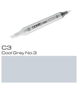 Copic Copic Ciao Marker C3 Cool Gray No. 3