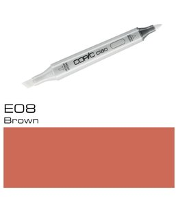 Copic Copic Ciao Marker E08 Brown