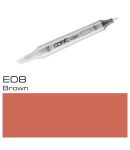 Copic Marqueur Copic Ciao E08 Brown