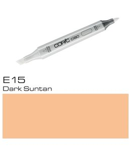 Copic Copic Ciao Marker E15 Dark Suntan