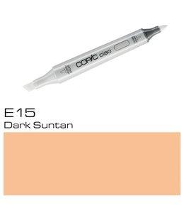 Copic Marqueur Copic Ciao E15 Dark Suntan