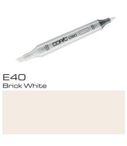 Copic Copic Ciao Marker E40 Brick White