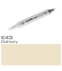 Copic Marqueur Copic Ciao E43 Dull Ivory