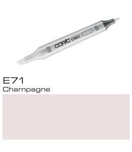 Copic Copic Ciao Marker E71 Champagne