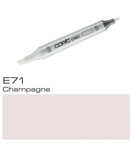 Copic Marqueur Copic Ciao E71 Champagne
