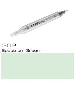 Copic Marqueur Copic Ciao G02 Spectrum Green