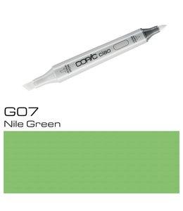 Copic Marqueur Copic Ciao G07 Nile Green