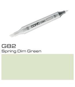 Copic Marqueur Copic Ciao G82 Spring Dim Green