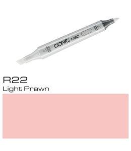 Copic Marqueur Copic Ciao R22 Light Prawn