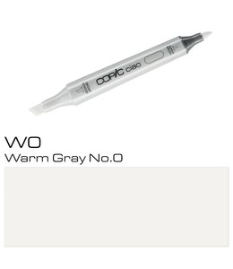 Copic Copic Ciao Marker W0 Warm Gray No.0