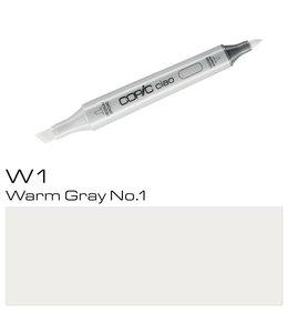 Copic Marqueur Copic Ciao W1 Warm Gray No. 1