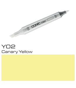 Copic Marqueur Copic Ciao Y02 Canary Yellow