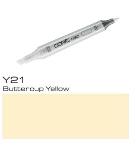 Copic Copic Ciao Marker Y21 Buttercup Yellow