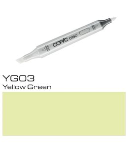 Copic Marqueur Copic Ciao YG03 Yellow Green