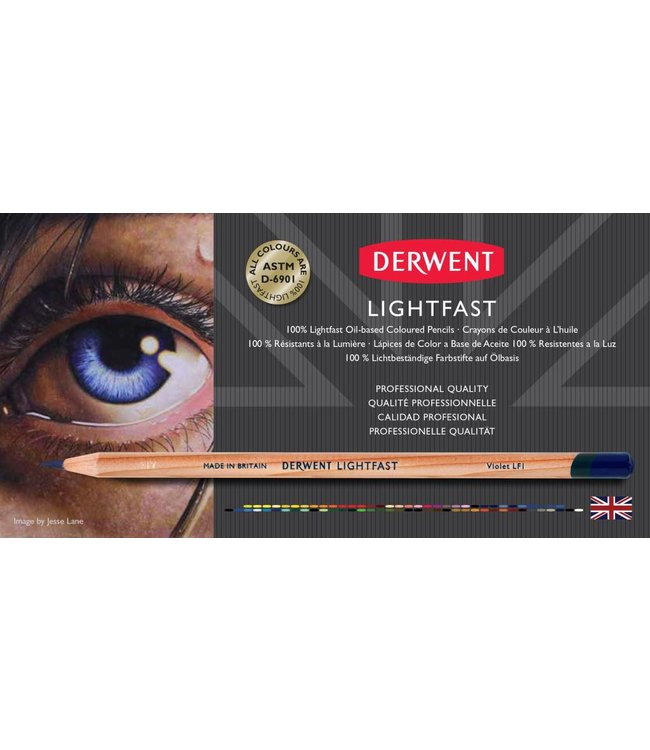 Derwent  Lightfast-voorbeeldkaart