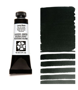 Daniel Smith Daniel Smith Aquarelle Extra Fine Lampe 15ml Noir