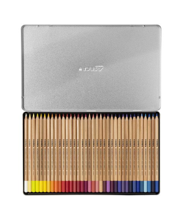Lyra Metal box with 72 REMBRANDT AQUARELL   Colouring Pencils