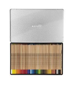 Lyra Caja de metal con 36 lápices de colores REMBRANDT POLYCOLOR