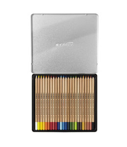 Lyra Metal box with 24 REMBRANDT POLYCOLOR  Colouring Pencils