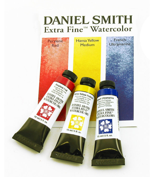 Daniel Smith Daniel Smith Extra Fine Watercolor Tube Sets 15ml - Primary Watercolor Set - 3 Tubes