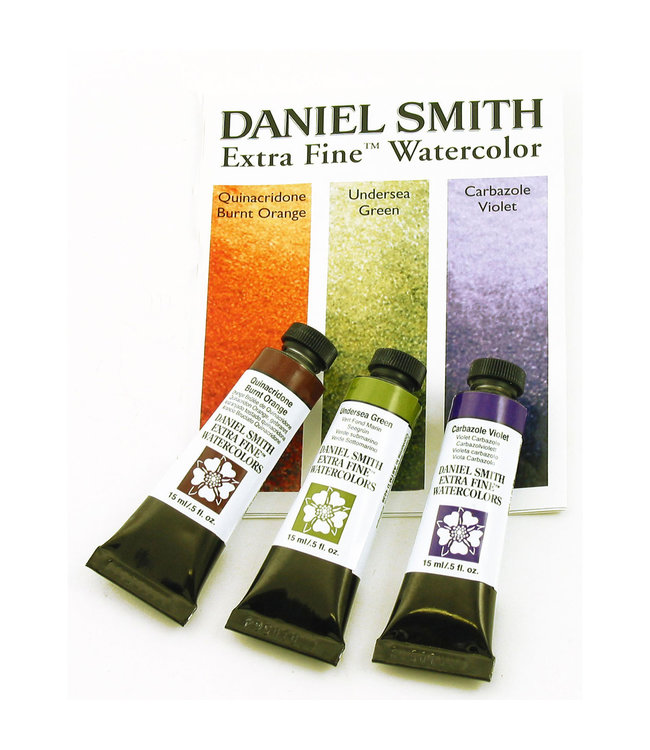 Daniel Smith Daniel Smith Extra Fine Watercolor Tube Sets 15ml - Secondary Watercolor Set - 3 Tubes