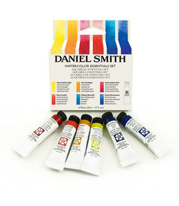 Daniel Smith Daniel Smith Extra Fine Watercolor Tube Sets 5ml Tubes - Essentials Introductory Watercolor Set - 6 Tubes