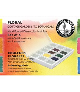 Daniel Smith Daniel Smith Watercolor Half Pan Sets Floral Watercolor Half Pan Set