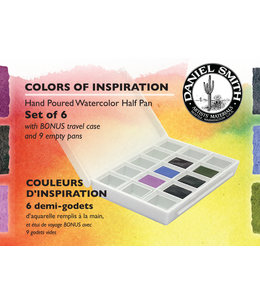Daniel Smith Daniel Smith Watercolor Half Pan Sets Colors of Inspiration Watercolor Half Pan Set