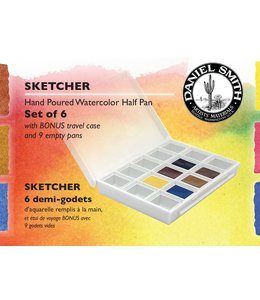 Daniel Smith Daniel Smith Watercolor Half Pan Sets Sketcher Watercolor Half Pan Set