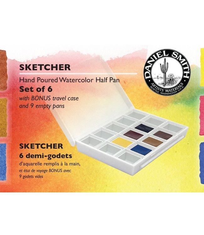 Daniel Smith Daniel Smith Watercolor Half Pan Sets Sketcher Watercolor Half Pan Set