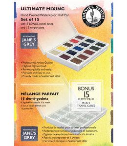 Daniel Smith Daniel Smith Watercolor Half Pan Sets Ultimate Mixing Watercolor Half Pan Set