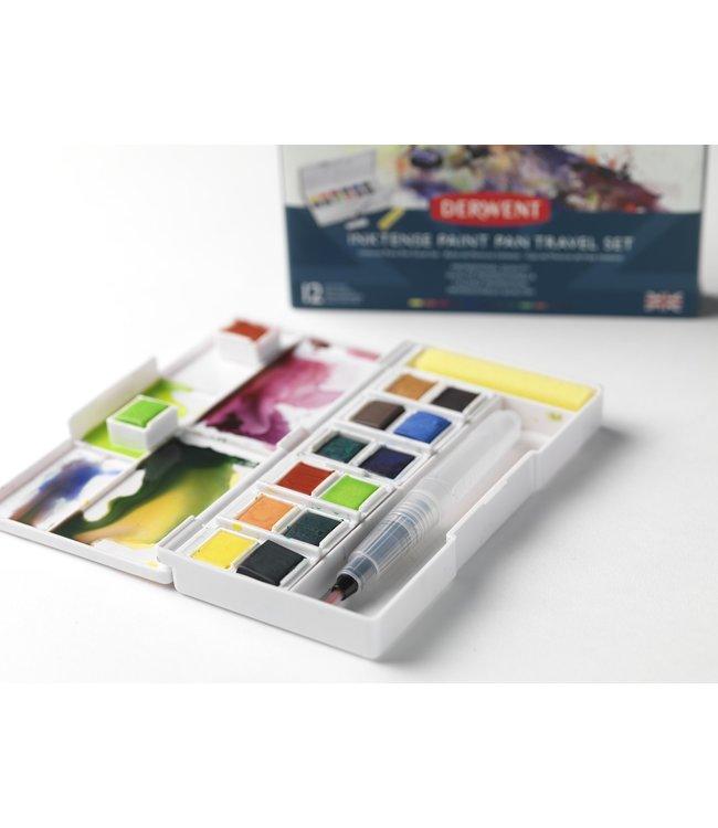 Derwent  Inktense Paint Pan Travel Set Palette # 2