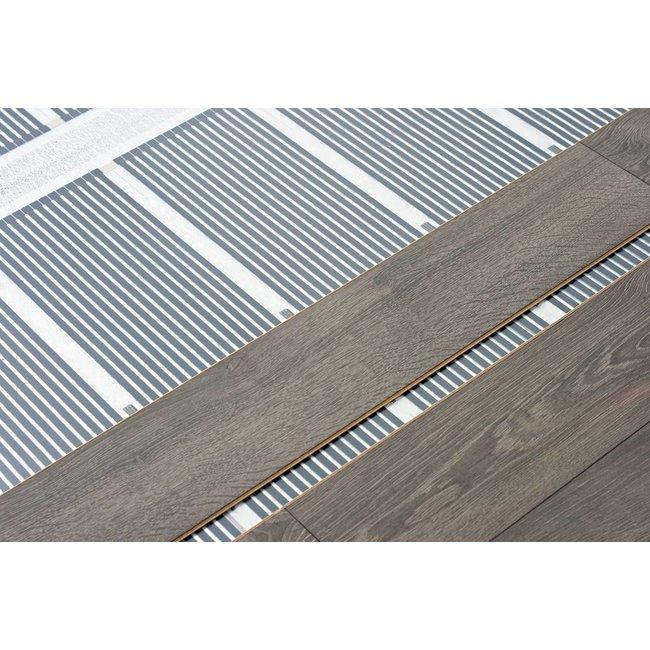 VH Infrarood Vloerverwarming op maat - 80 Watt/m2  - 100 cm breed
