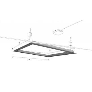 Ecosun Aluminium Frame voor het inbouwen van  Ecosun panelen